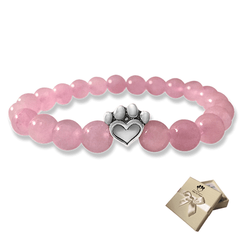 Bead Bracelet - Help For Paws™ Bracelet In Pink