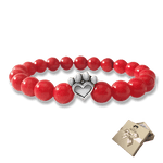 Help For Paws Bracelet In Red