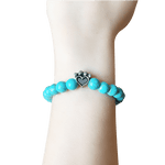 Bead Bracelet - Help For Paws™ Bracelet In Turquoise
