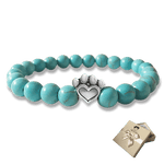 Help For Paws Bracelet In Turquoise