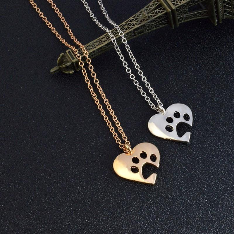 I Love Paws Necklace - Gold