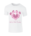 Help For Paws Pink Kaleidoscope T-Shirt