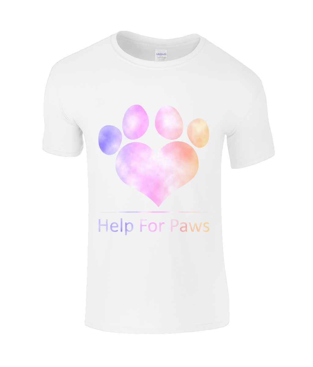 Help For Paws Rainbow Clouds T-Shirt