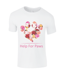 Clothing - Help For Paws Roses T-Shirt