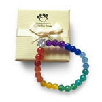 Bead Bracelet - Help For Paws™ Rainbow Bridge Memory Bracelet