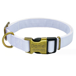 Vintage Pastel Personalised Pet Collar