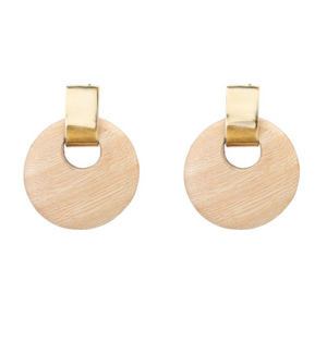 Olea Circle Earrings