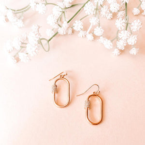 Drop Lock Earring
