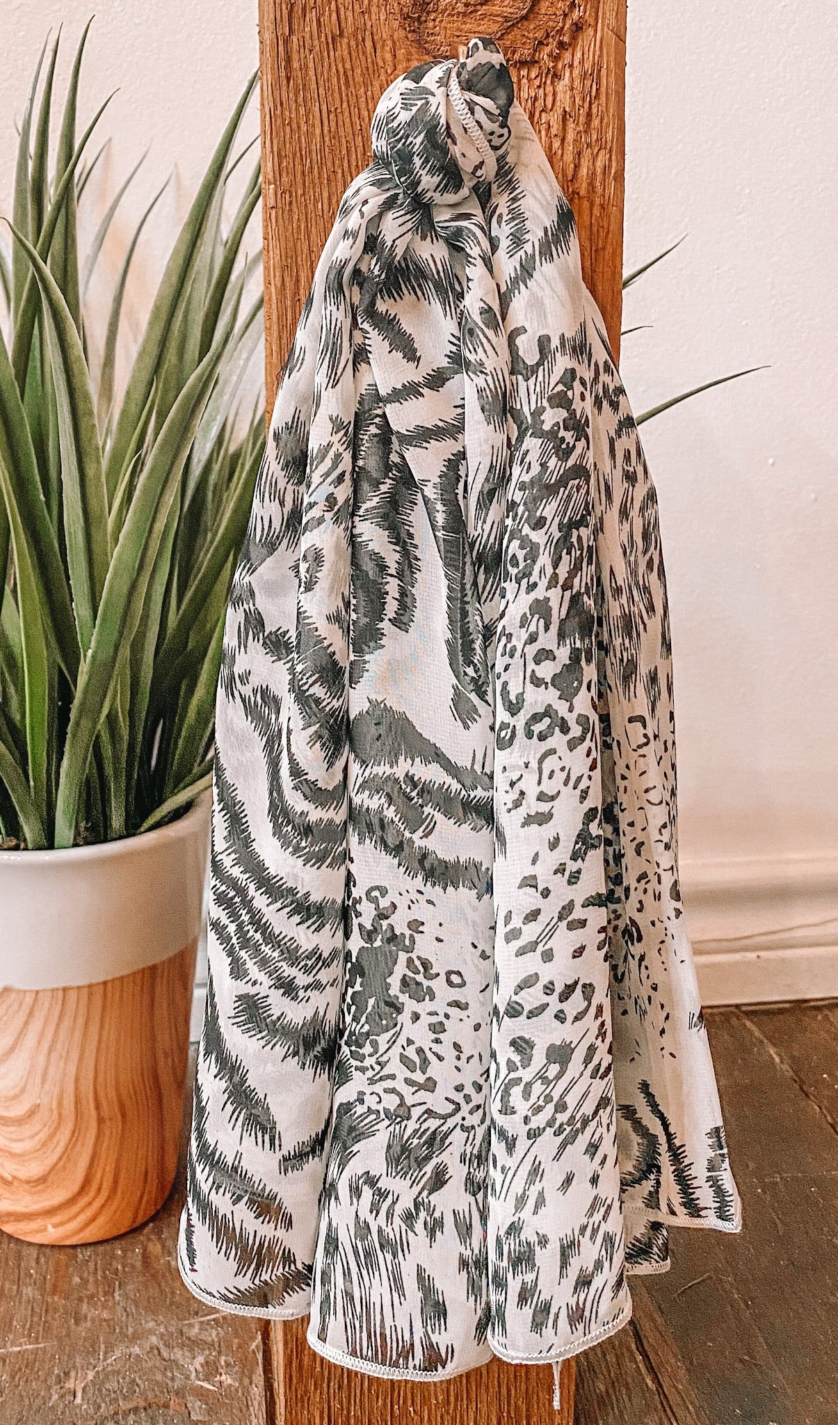 Sheer Accessory Scarf
