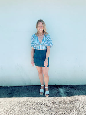Sierra Denim Skirt