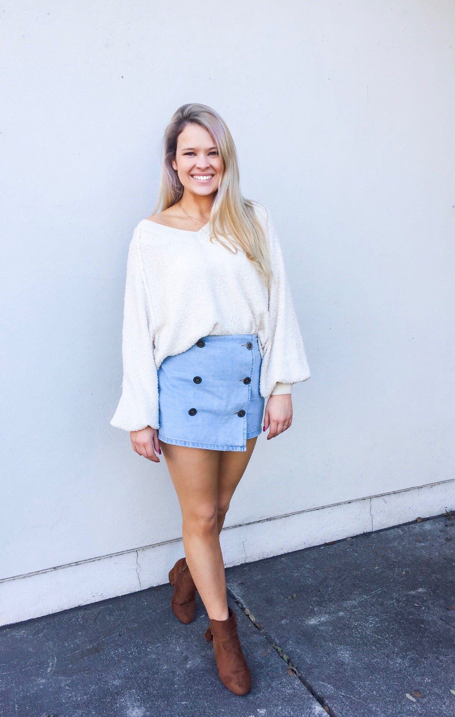 Prescott Bubble Sweater