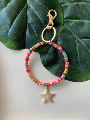 Colorful Bangle Keychain