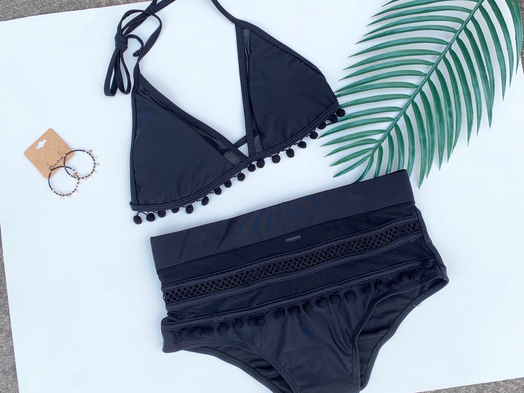 Tassle Swim Suit Set