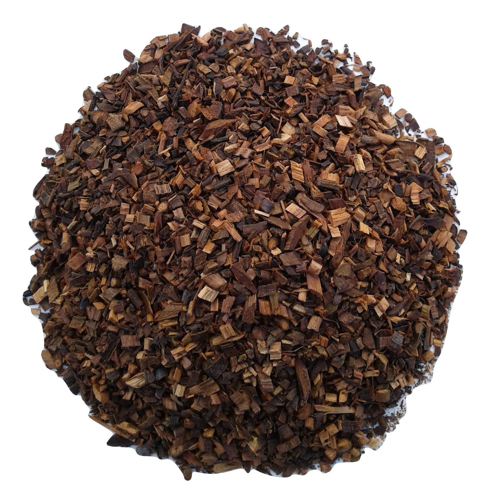 organic honeybush red tea. herbal tea