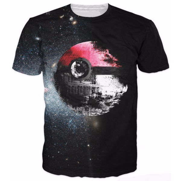 Pokeball Space Tee