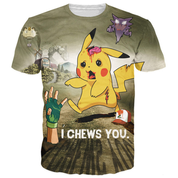 Pokemon I Chews You Tee