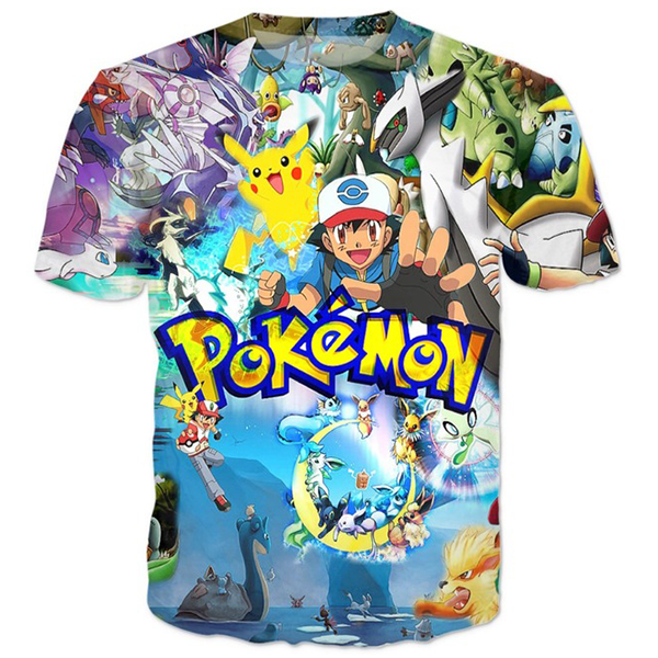 Pokemon 3D Movie Shirt