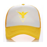 A Pokemon Go Mesh Team Hats