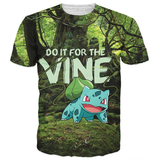 Bulbasaur Do It For the Vine Shirt