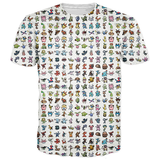 Pokemon Johto Region Shirt