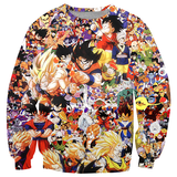 Dragon Ball Z Character Shirts