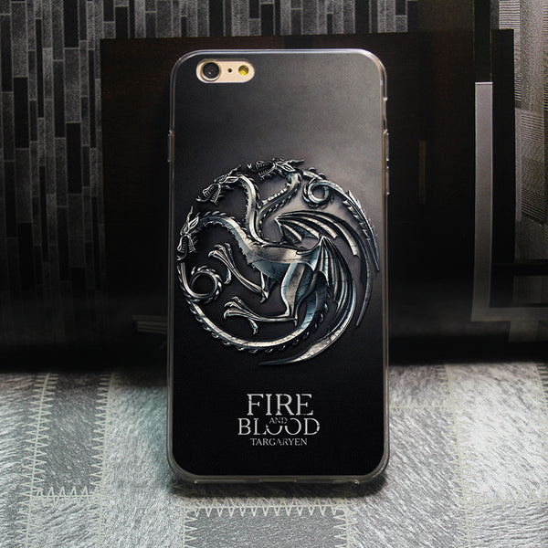 Game of Thrones Fire and Blood Case