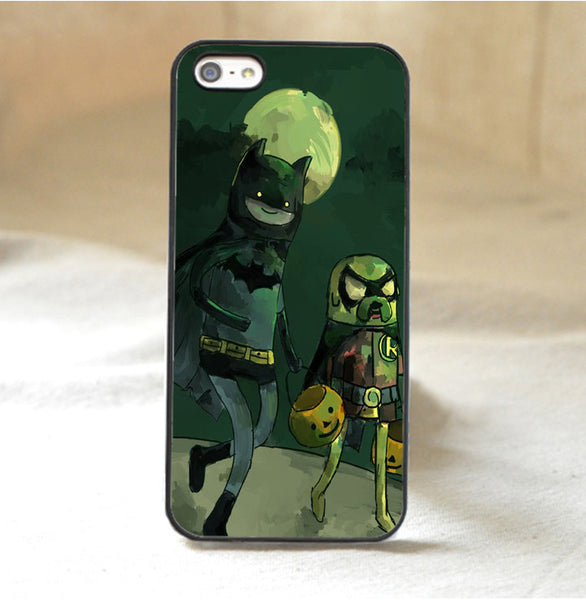 Adventure Time Batman and Robin Phone Case