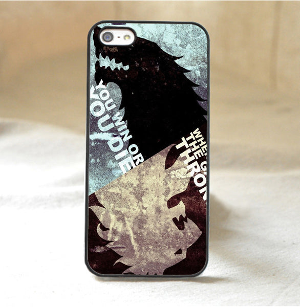 Game of Thrones You Win or You Die Phone Case
