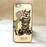 Batman and Catwoman Phone Cases