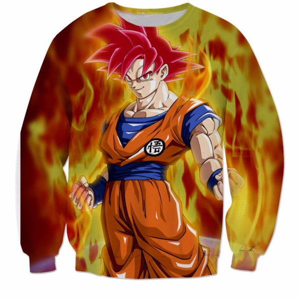Super Saiyan God Crewneck