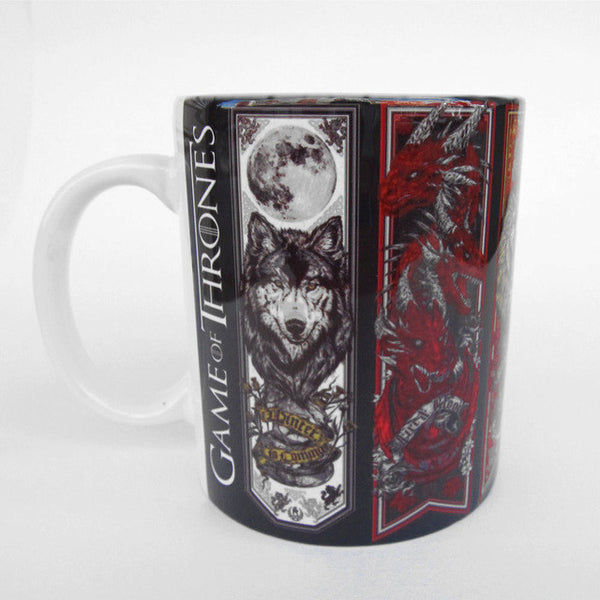 Game of Thrones Creatures Heat Changing Mug