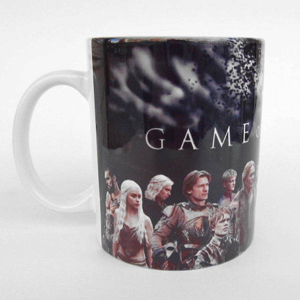 Game of Thrones Character Heat Changing Mug