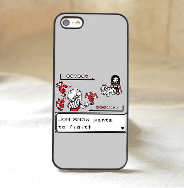 A Game of Thrones Jon Snow Phone Case