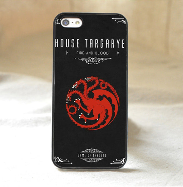 Game of Thrones Fire and Blood Phone Case