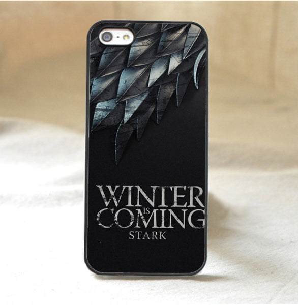 Game of Thrones Winter is Coming Stark Phone Case