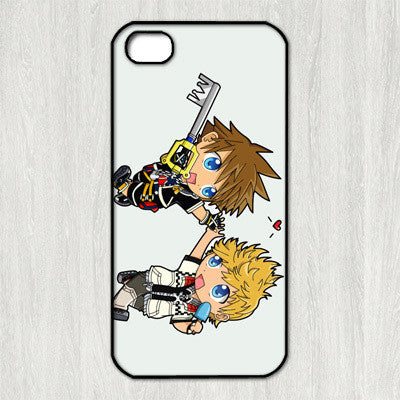 Kingdom Hearts Sora and Roxas Case