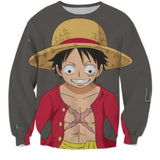 Anxious Luffy 3D Shirts