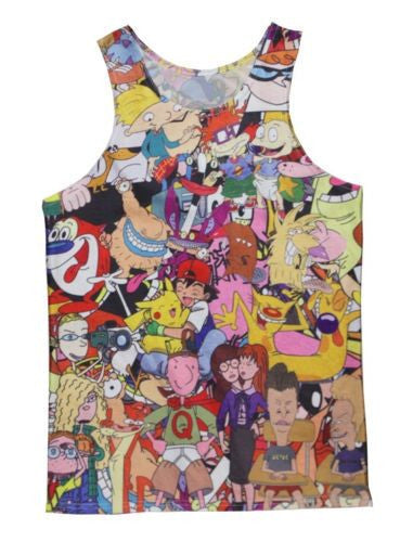 90's Baby Cartoon Tank