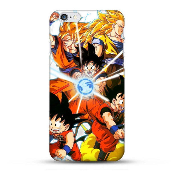 Dragon Ball Z Goku Forms Phone Case