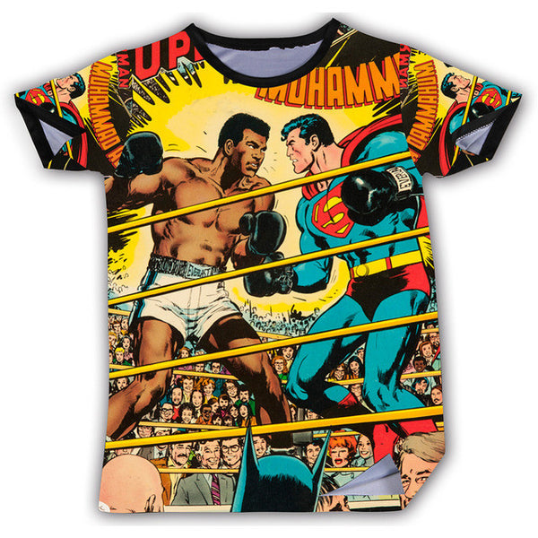 Ali vs Superman Tee