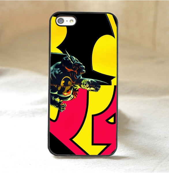 Bat vs Super Cross Phone Case