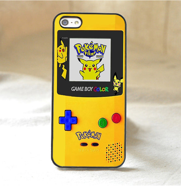 Pokemon Yellow Version Gameboy Case