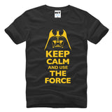 Keep Calm and Use the Force Tees