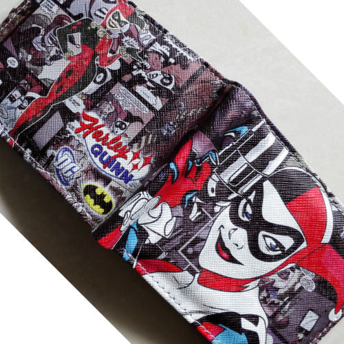 Harley Quinn Leather Wallet