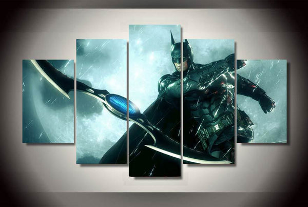 Batman Arkham Knight City Art Canvas