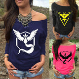 A Pokemon Go Womens Tops