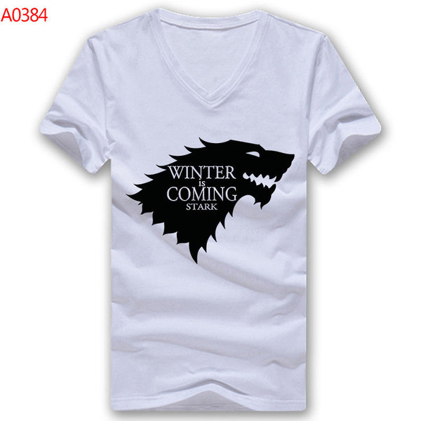 Game of Thrones Winter is Coming Men V Neck