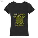 Night's Watch Game Of Thrones Woman T-shirts