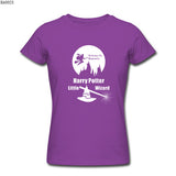Women Harry Potter Wizard Slim Fit Tees