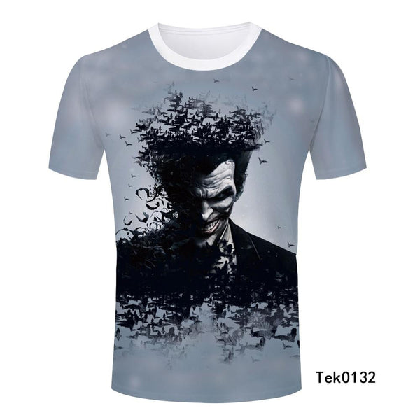 Man T Shirt Batman Popular Cool Newest Men Personalized Handsome Boy T-Shirt Casual Male Top Quality Fashion Novelty Tee